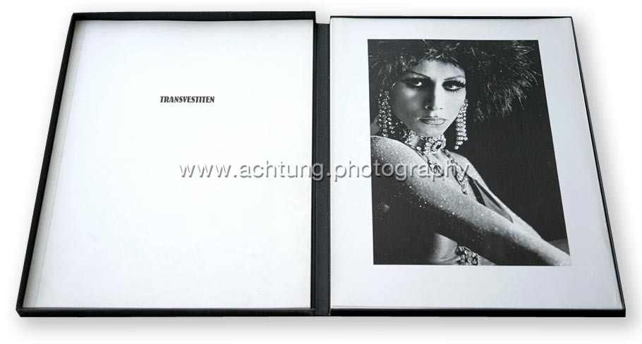 Portfolio with text book and plates