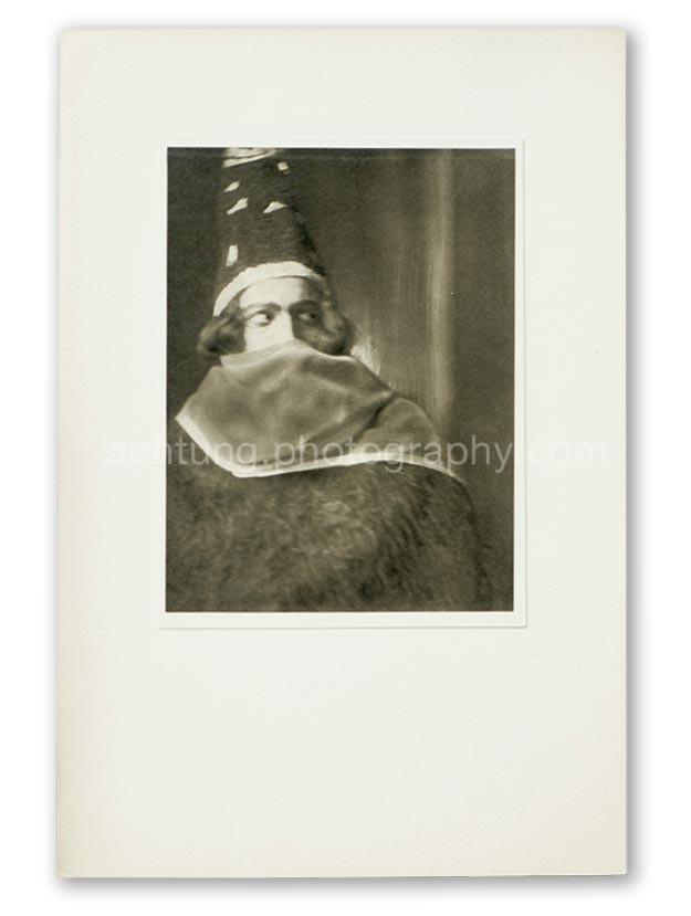 Plate 05, E.O. Hoppe Adolf Bolm in Thamar (Monsieur Adolph Bolm, Thamar), 1912, image size 19.4 x 14.6 cm paper size 20.4 x 15.5 cm