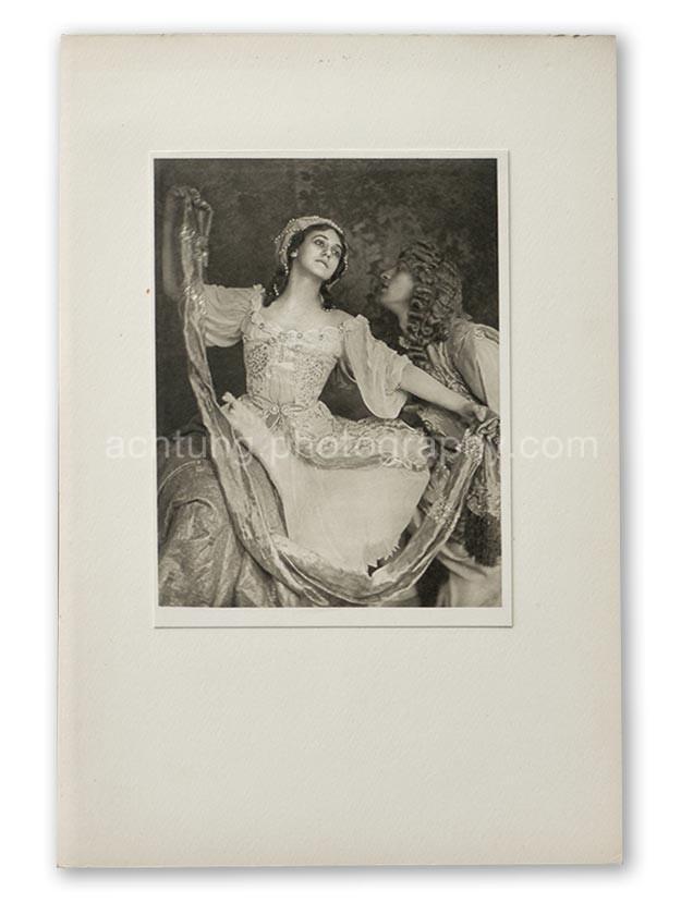 Plate 09, E.O. Hoppe Tamara Karsavina and Adolf Bolm in Le Pavillon d'Armide (Madame Thamar Karasavina and M. Adolph Bolm, Le Pavillion d'Armide), 1911, image size 19 x 14.5 cm paper size 20.2 x 15.2 cm