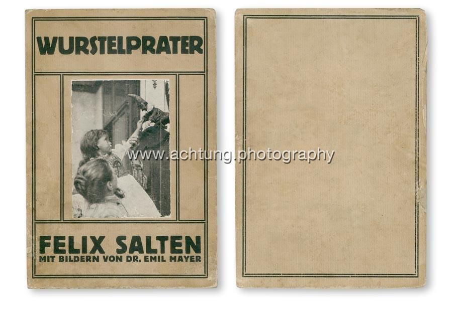 Felix Salten (text), Dr. Emil Mayer (photography), Wurstelprater, Brüder Rosenbaum Wien Leipzig, 1911