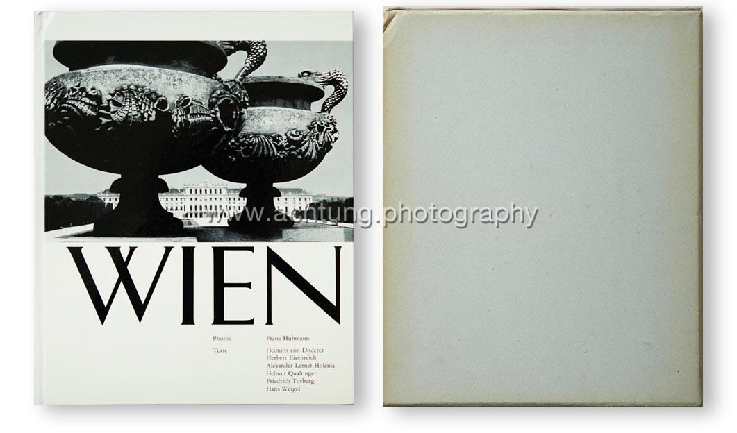 Franz Hubmann, Wien - Vorstadt Europas, Artemis Verlags-AG Zürich, 1963