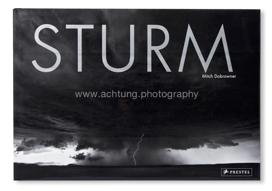 German edition STURM published by Prestel, dust jacket front