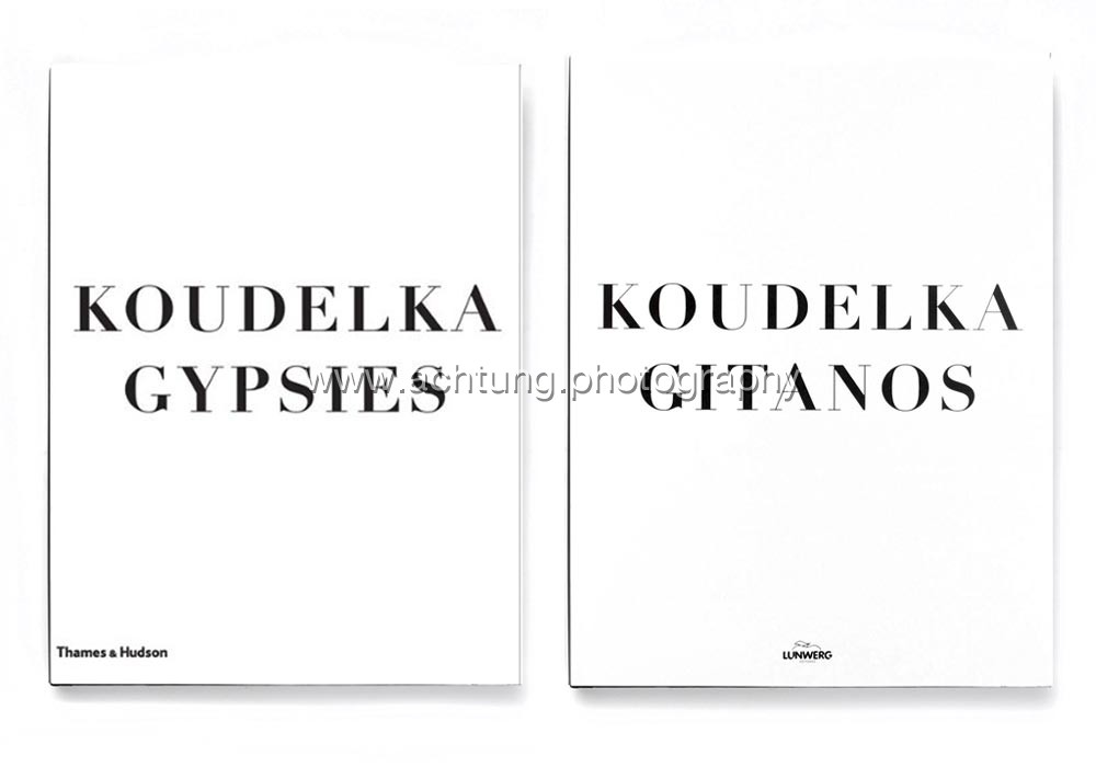 Gypsies published by Thames & Hudson in 2011 dust jacket front, Gitanos