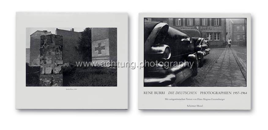 René Burri, Die Deutschen, Schirmer/Mosel 1986, Dust jacket back and front