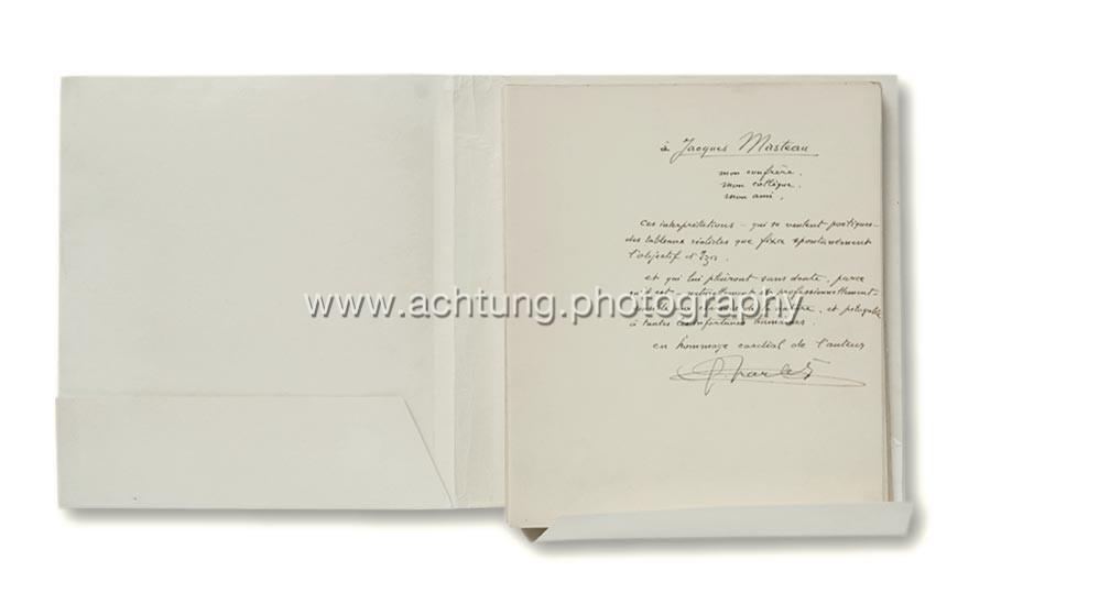 Inscription by Gaston G. Charlet