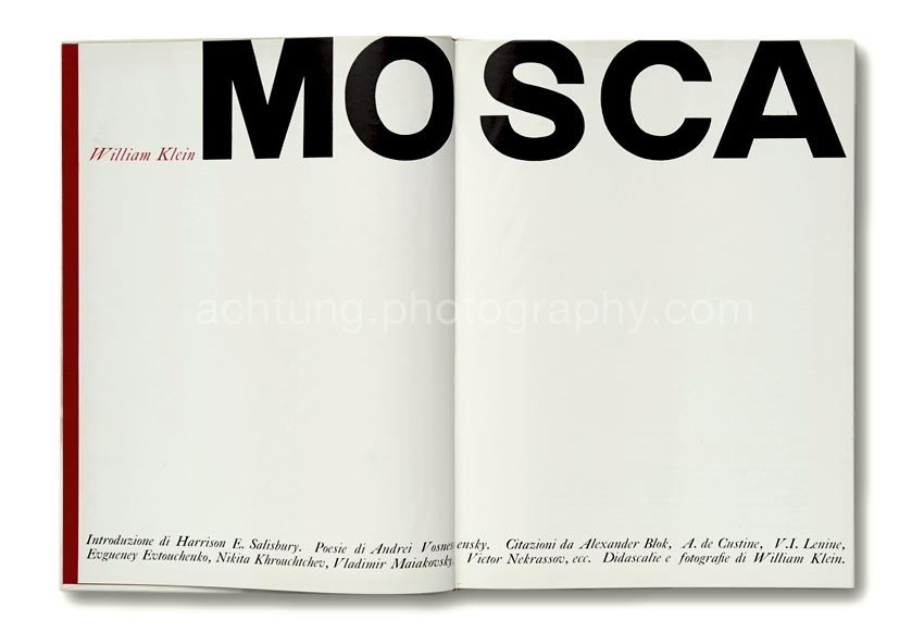 Italian edition published by Silvana editoriale d'arte 1964, title pages