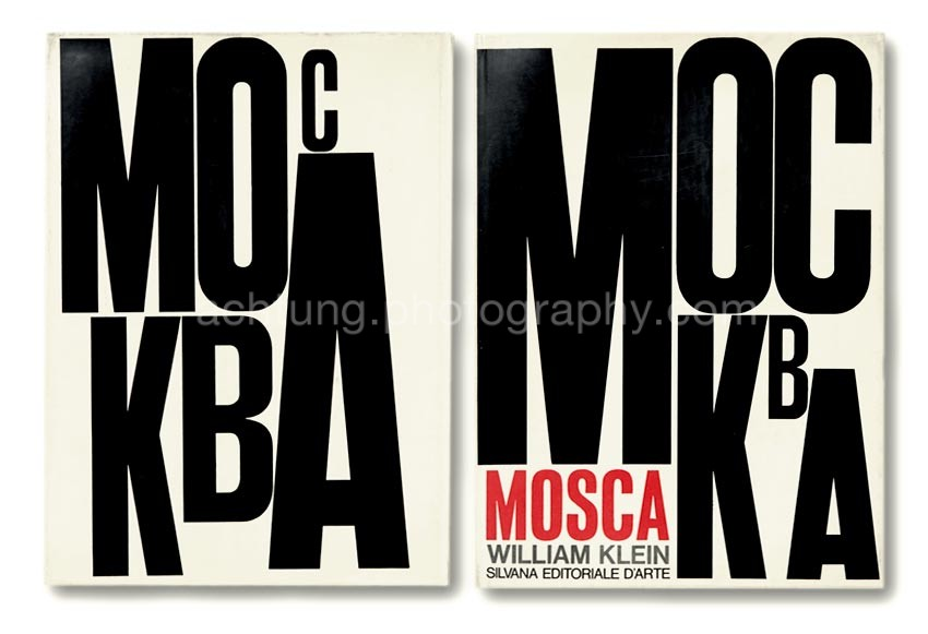 Italian edition, dust jacket back and front