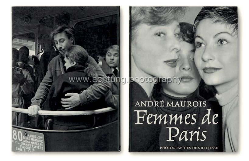 Nico Jesse / André Maurois, Femmes de Paris, 1954, cover back and front