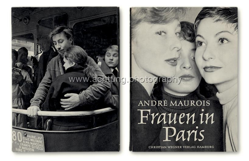 Nico Jesse / André Maurois, Frauen in Paris, 1954, cover back and front