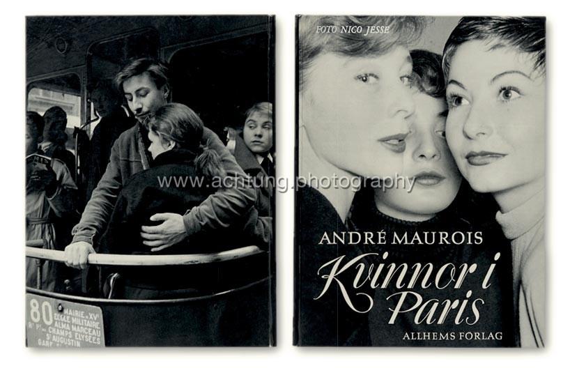 Nico Jesse / André Maurois, Kvinor i Paris, 1954, cover back and front