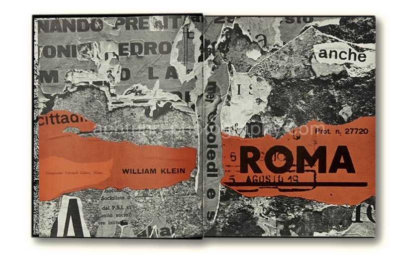 William_Klein_Roma_Rome_Giangiacomo_Feltrinelli_1959_title_page