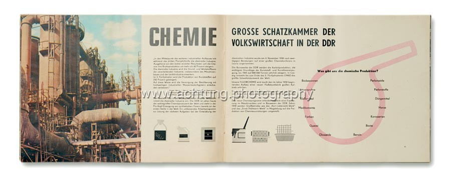 CHEMISTRY - THE LARGEST TREASURY OF THE PEOPLE'S ECONOMY IN THE DDR