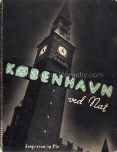 Hermann Larsen, Kobenhavn ved nat - 48 Fotografier, 1935