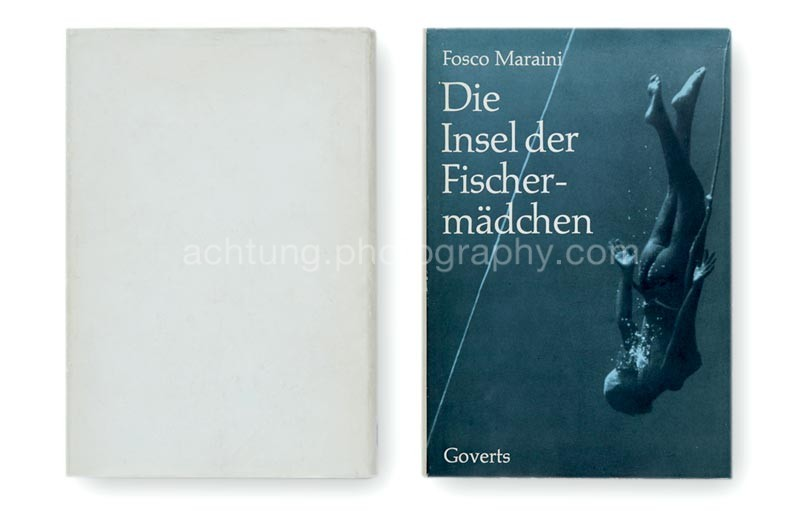 German edition, dust jacket back and front