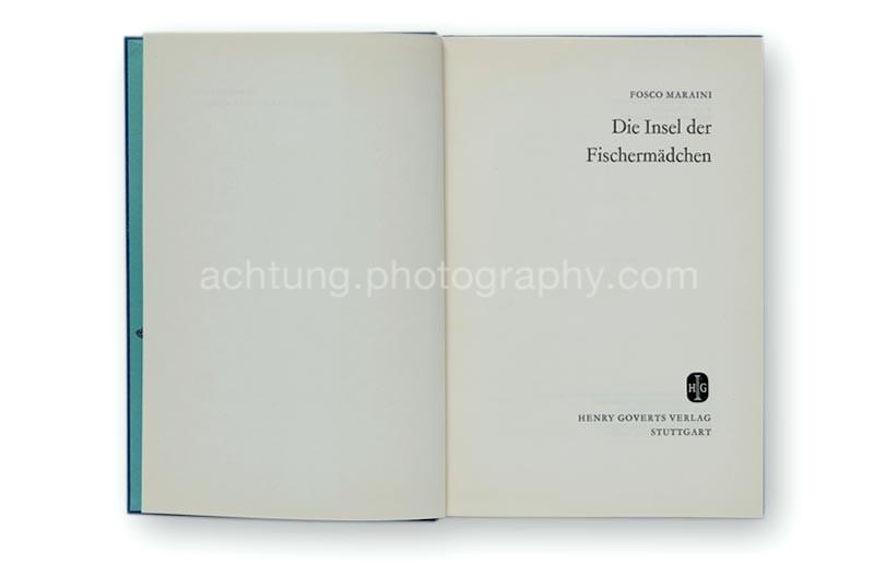 Fosco_Maraini_Die_Insel_der_Fischermädchen_titlepages