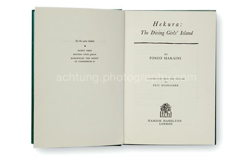 Fosco_Maraini_Hekura_The_Diving_Girls_Island_titlepages