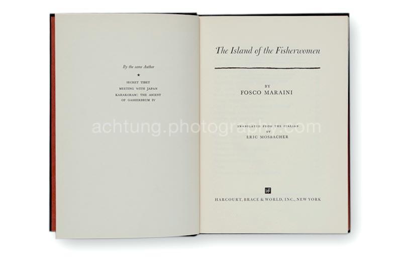 Fosco_Maraini_The_island_of_the_fisherwomen_titlepages