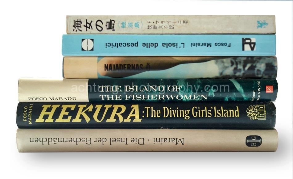 Japanese edition 1964, Italian edition 1960, Swedish edition 1963, US edition 1962, UK edition 1962, German edition 1963