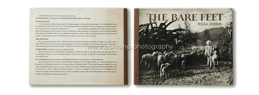 Dust jacket back and front