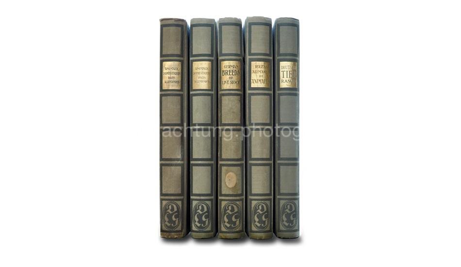 Deutsche Tierrassen, language editions