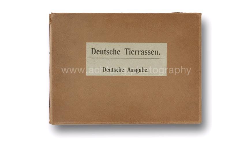 Deutsche Tierrassen, slipcase front