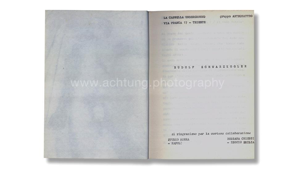 rudolf_schwarzkogler_la_capella_underground_trieste_1977_title_page